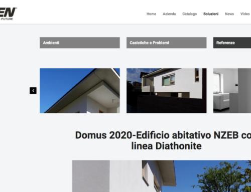 Domus 2020-Diasen, il Sughero NZEB con linea Diathonite